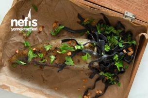 Romantik Akşam Yemeği Kalamarlı Mürekkep Balıklı Spagetti Tarifi