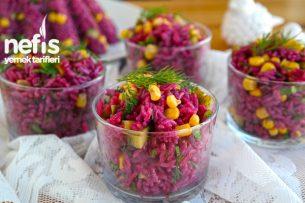 Şalgamlı Pirinç Salatası Nasıl Yapılır?