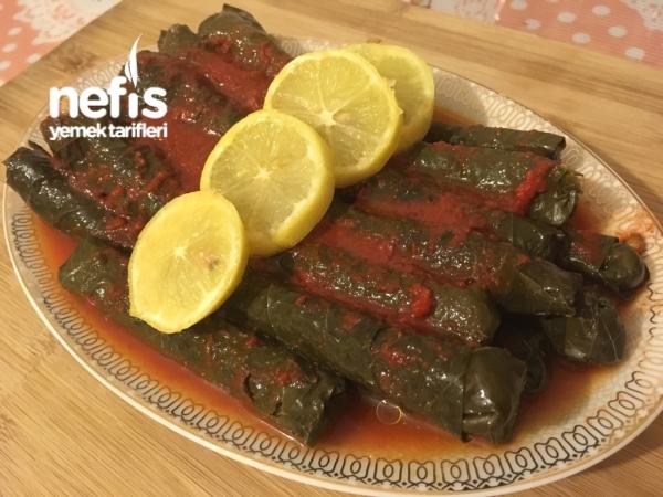 Enfes Etli Zeytinyağlı Sarma