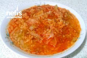Kıymalı ve Bulgurlu Kapuska Yemeği (Çankırı Yöresine Ait) Tarifi