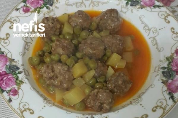 Misket Köfte Kebabı Tarifi