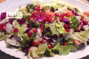 Brokoli Salatası (Doyurucu Diyet) Tarifi