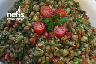 Demir Deposu Mercimek Salatası (Diyetde Olanlara Alternatif) Tarifi