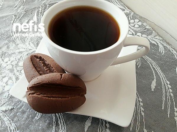Kahve Çekirdeği KurabiyeBuram Buram Kahve Kokulu