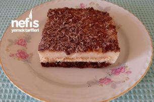 Artan Kekten Bisküvili Pasta Tarifi