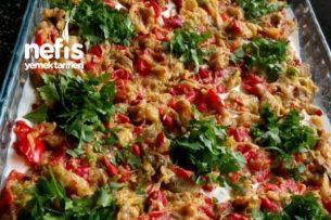 Etimekli Köz Biber Patlıcan Salatası Tarifi