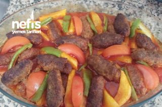 Fırında Nefis Köfte Patates Tarifi