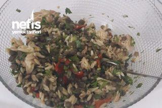 Yeşil Mercimek Salatası Tam Bir Vitamin Deposu Tarifi