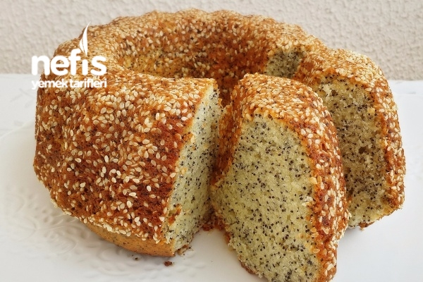 Yumuşacık Susamlı Haşhaşlı Limonlu Kek (Çok Kabaran) Tarifi