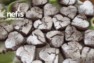 Çikolata Parçalı Tahinli Kurabiye (Kış Kurabiyesi) Tarifi