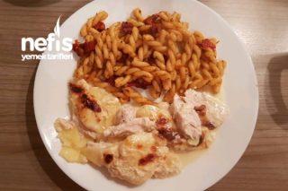 Kremalı Tavuklu Patates Graten Tarifi