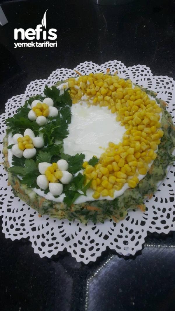 Tart Kalibinda Patatesli Salata