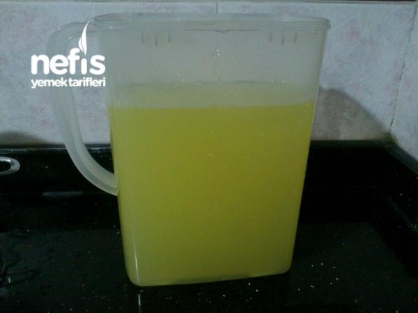 Emzirenler İçin Süt Arttırıcı Limonata