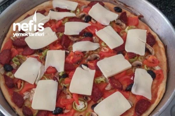 Ev Usulü Pizza