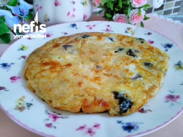 Zeytinli Peynirli Bebek Kahvaltısı