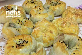 Ispanaklı Peynirli Kıtır Gül Böreği Tarifi