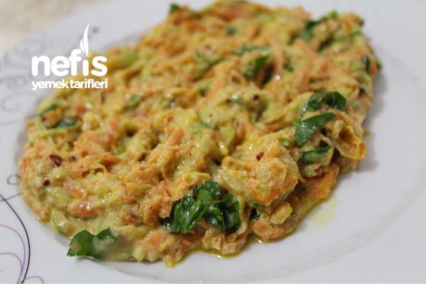 Kabaklı Havuç Salatası(leziz Ve Sağlıklı)