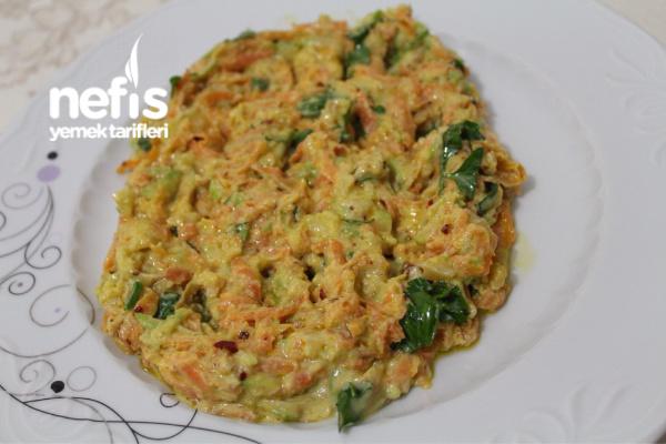 Kabaklı Havuç Salatası (Leziz ve Sağlıklı)
