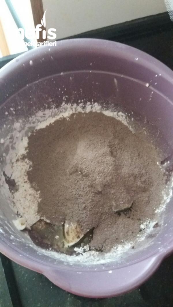 Kakaolu Pudingli Kurabiye