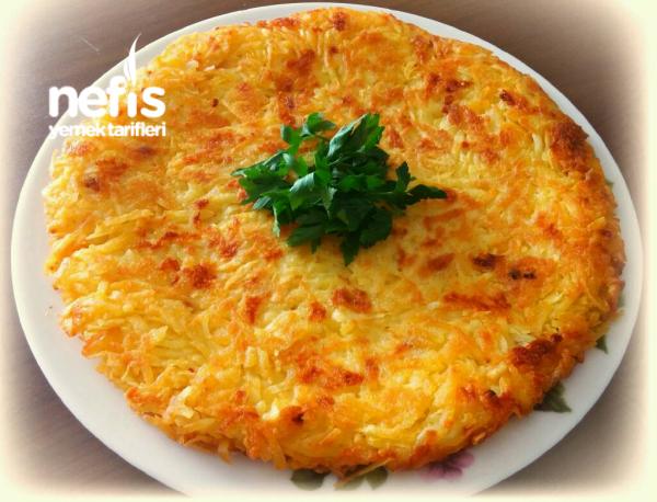 Kaşarlı Çıtır Patates Tava(10 Dakikada)