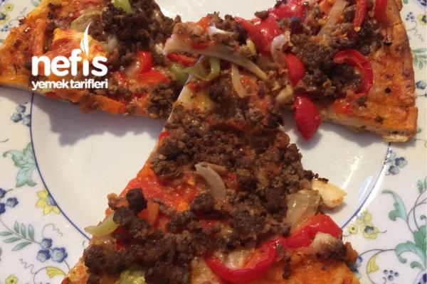 Kıymalı Nefis Pizzam Tarifi