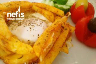 Patates Kafesinde Yumurta Tarifi