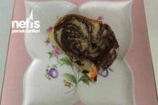 Çikolata Dolgulu Zebra Kek Tarifi