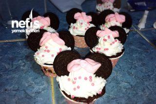 Minnie Mouse Cupkekler Tarifi
