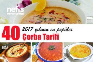 2017'nin En Beğenilen 40 Değişik Çorba Tarifi