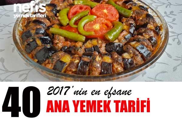 2017'nin En Beğenilen Değişik Ana Yemek Tarifleri Tarifi