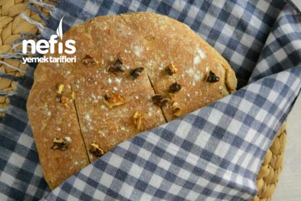 Çavdar Unlu Ve Yulaf Kepekli Ekmek