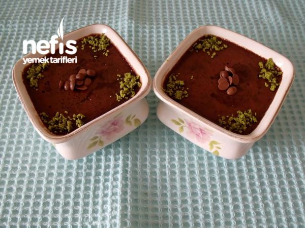 Çikolatalı İrmikli Puding