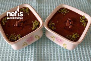 Çikolatalı İrmikli Puding Tarifi