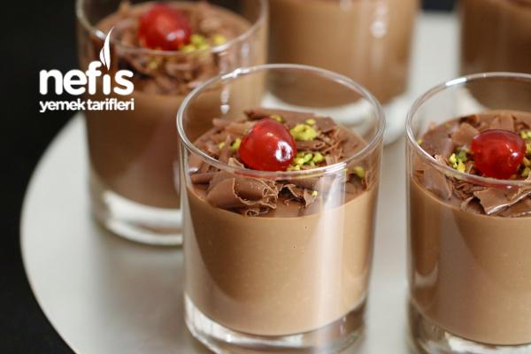 Çikolatalı Krem Puding (Videolu)