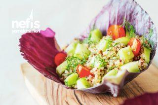 Düşük Kalorili Kinoa Salatası Tarifi