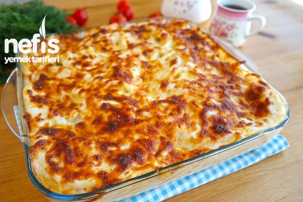 Fırın Makarna (Bol soslu videolu tarif) Tarifi