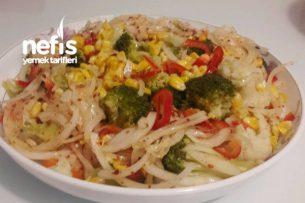 Haşlama Sebze Salatası Tarifi