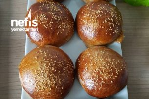 Ev Yapımı Hamburger Ekmekleri Tarifi