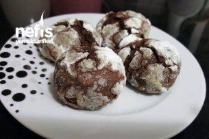 Fındıklı Çikolatalı Mado Kurabiyesi (Çatlak Kurabiye) Tarifi