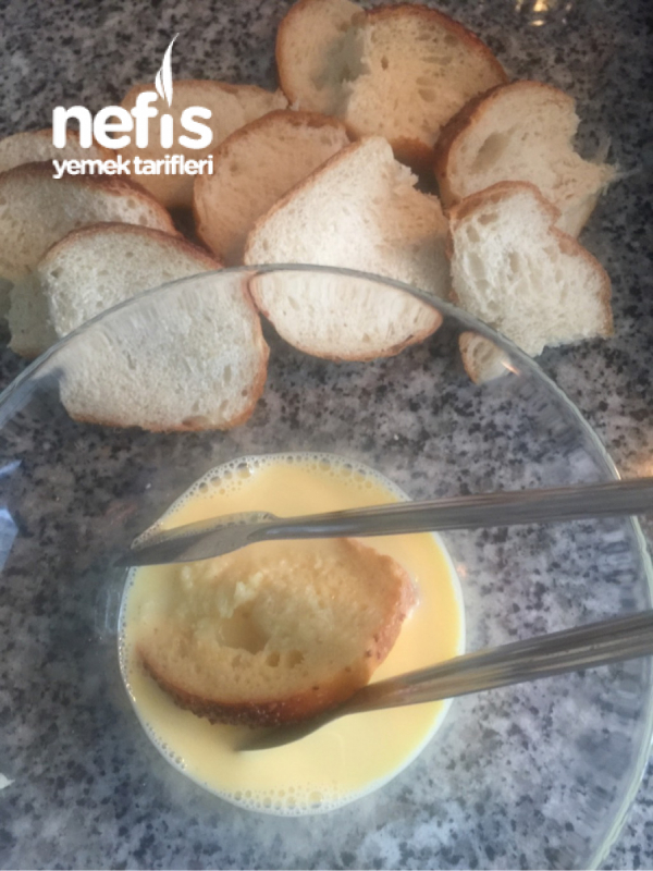 Mini Yumurtalı Ekmek