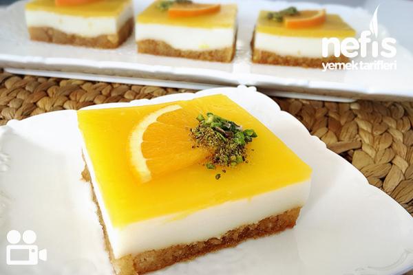 Portakallı Etimek Tatlısı (ferahlatıcı) Videolu Tarifi