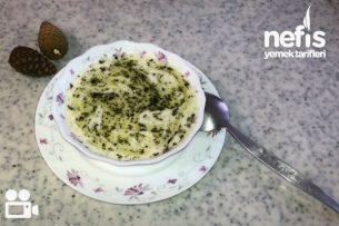 Arpa Şehriyeli Yoğurt Çorbası (Videolu) Tarifi