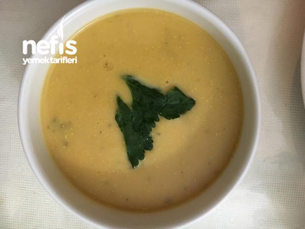 Kereviz Çorbası(portakallı-terbiyeli)