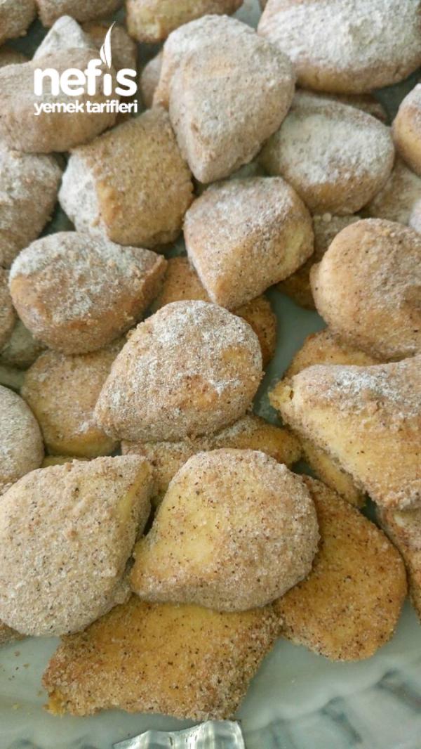 Tarçınlı Pudra Şekerli Kurabiye