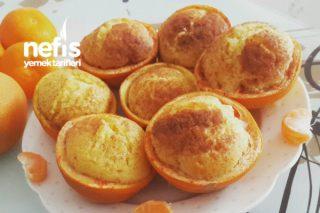 Portakal Çanağında Portakallı Kek Tarifi