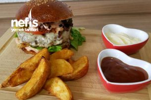 Süper Lezzet Ev Yapımı Hamburger Tarifi