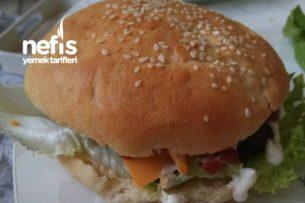 Evde Hamburger Ekmeği Ve Köftesi Tarifi
