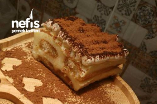 Kedi Dili Tiramisu Pasta