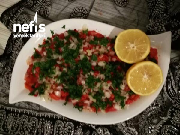 Köz Biber Salatası