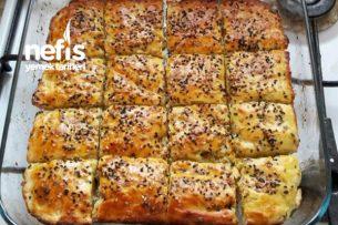 Peynirli Çörek (15 Dakika) Tarifi